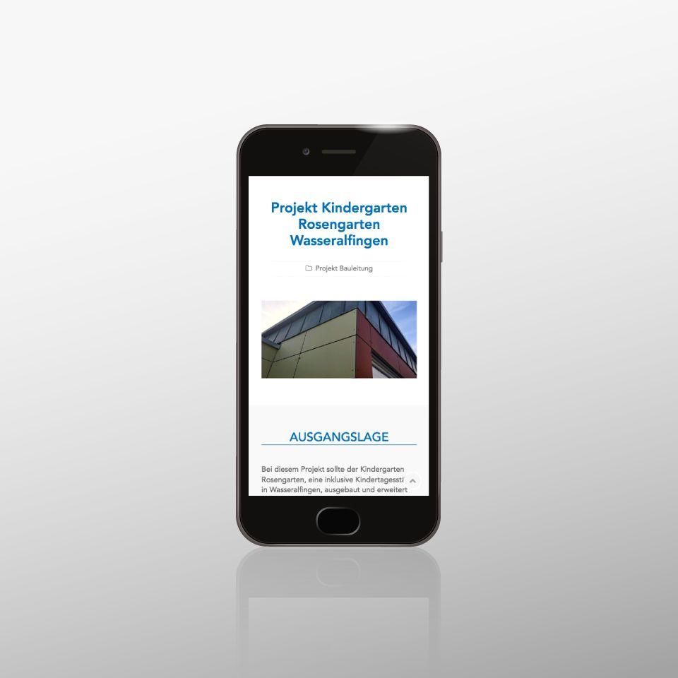 Klaus Schindhelm / Referenzen / Bauberatung Franz - Website - Projektbeschreibung