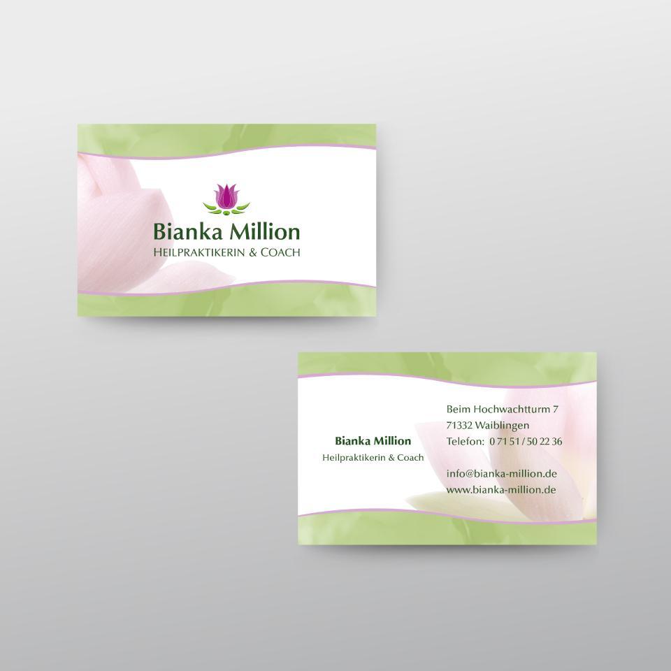 Klaus Schindhelm / Referenzen / Bianka Million - Visitenkarten
