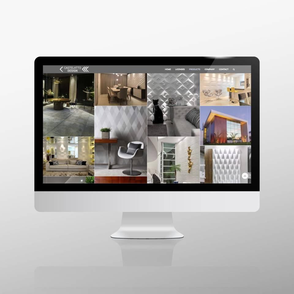 Klaus Schindhelm / Referenzen / Castelatto Design - Website - Inspiration