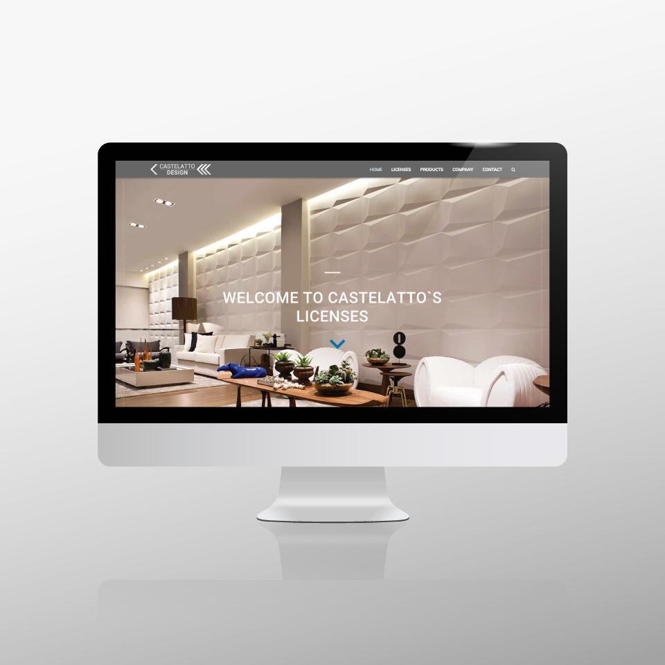 Klaus Schindhelm / Referenzen / Castelatto Design - Website