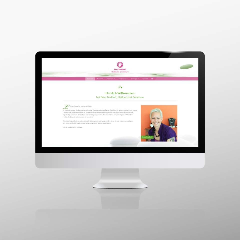 Klaus Schindhelm / Referenzen / Praxis Feldhoff - Website