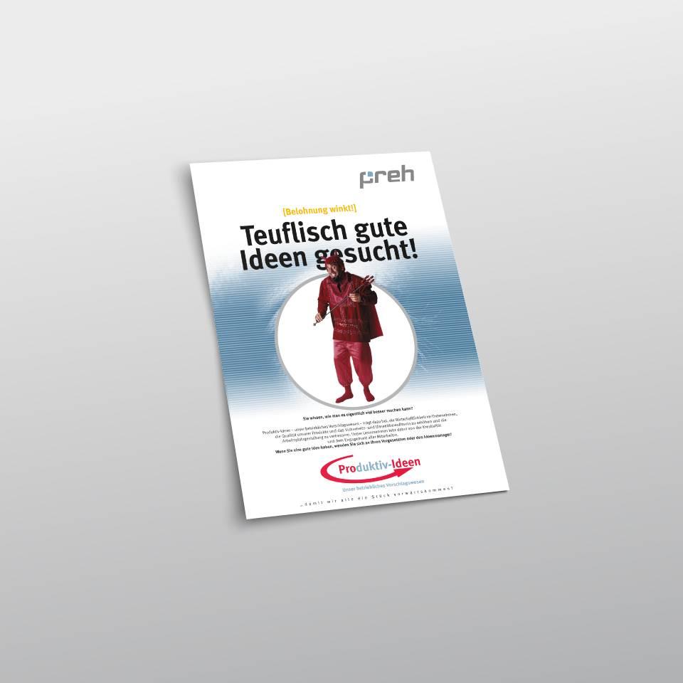 Klaus Schindhelm / Referenzen / Preh - Produktivideen