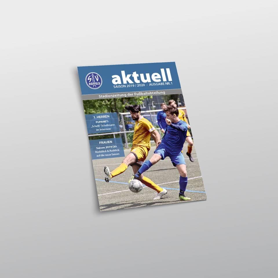 Klaus Schindhelm / Referenzen / SV Hoffeld - Stadionzeitung